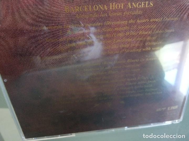 CDs de Música: CD BARCELONA HOT ANGELS - Añorando Las Horas Pasadas / 1ª Edición 1998 JAZZ BLUES / MUY RARO!!!!!!!! - Foto 4 - 170423600
