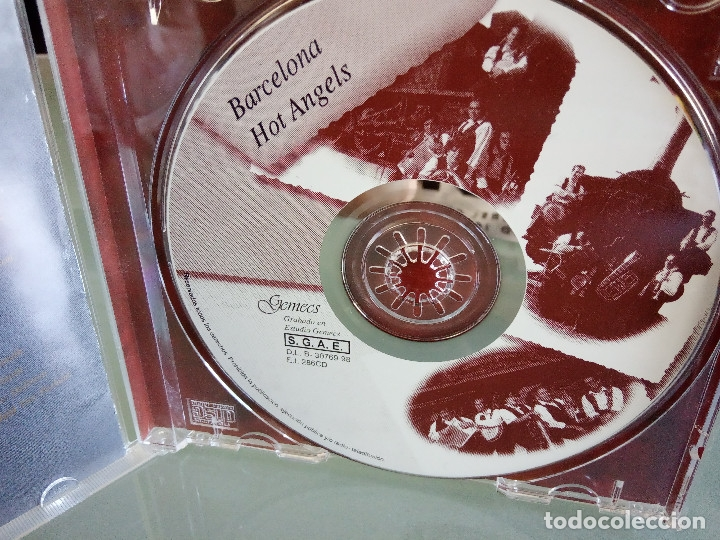 CDs de Música: CD BARCELONA HOT ANGELS - Añorando Las Horas Pasadas / 1ª Edición 1998 JAZZ BLUES / MUY RARO!!!!!!!! - Foto 5 - 170423600