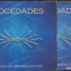 CDs de Música: MOCEDADES 2 CD + DVD ERES TÚ 2006 TODOS LOS GRANDES ÉXITOS. Lote 170442988