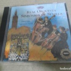 CDs de Música: REAL ORQUESTA SINFONICA DE SEVILLA (CD) MARCHAS PROCESIONALES AÑO – 1996. Lote 242955965