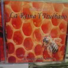 CDs de Música: LA REINA`L TRUEBANO 10 AÑOS ESMELGANDO SONES CD ALBUM ASTURIAS. Lote 170452032