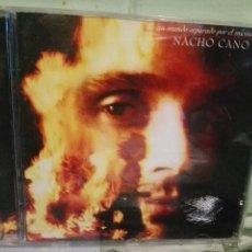 CDs de Música: NACHO CANO UN MUNDO SEPARADO POR EL MISMO DIOS CD ALBUM DEL AÑO 1994 CONTIENE 13 TEMAS MECANO PEPETO. Lote 170453260