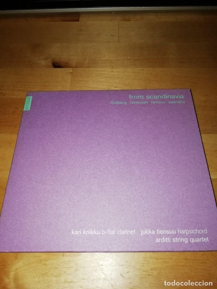 FROM SCANDINAVIA - ARDITTI STRING QUARTET - MONTAIGNE 2001 - LINDBERG SORENSEN TIENSUU SAARIAHO (Música - CD's Clásica, Ópera, Zarzuela y Marchas)