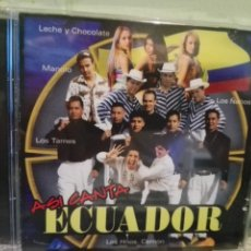 CDs de Música: ASI CANTA ECUADOR LOS TAMES , SORAYDA CD ALBUM . Lote 170457296