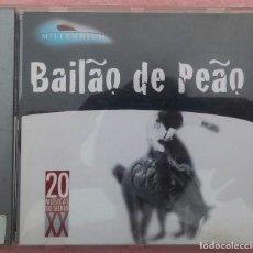 CDs de Música: BAILAO DE PEAO (POLYDOR / UNIVERSAL MUSIC, 2000) /// ED. BRASIL ORIGINAL, RARO /// SAMBA AXÉ FORRÓ. Lote 170492716