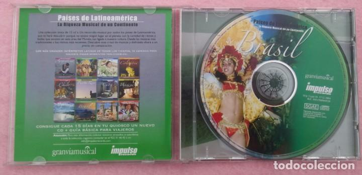 CDs de Música: Brasil, La Riqueza Musical de un Continente (Impulso Records, 2004) /// SAMBA AXÉ FORRÓ BOSSA NOVA - Foto 2 - 170493076