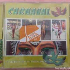 CDs de Música: CARNAVAL - OS GRANDES ÉXITOS DO CARNAVAL BRASILEIRO (ESPACIAL, 2004) /// ED. BRASIL ORIGINAL, RARO. Lote 170493396