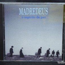 CDs de Música: MADREDEUS - O ESPÍRITO DA PAZ - CD. Lote 170496504