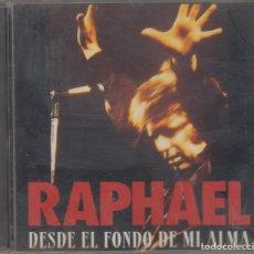 CD de Música: RAPHAEL CD DESDE EL FONDO DE MI ALMA 1995. Lote 170539840