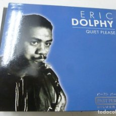 CDs de Música: ERIC DOLPHY ?– QUIET PLEASE -CD -N. Lote 170552848