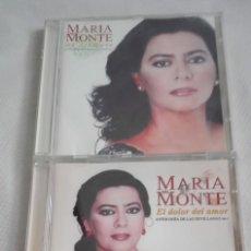 CDs de Música: 2 CD DE MARIA DEL MONTE. Lote 170564692
