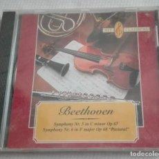 CDs de Música: CD BEETHOVEN SINFONIA Nº 5 Y Nº 6 1999 PRECINTADO. Lote 170567904