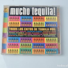 CDs de Música: MUCHO TEQUILA ! 2XCD. Lote 170631380