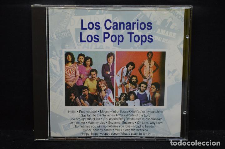 LA MÚSICA DE TU VIDA - LOS CANARIOS / LOS POP TOPS - CD (Música - CD's Pop)