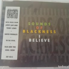 CDs de Música: CD THE SOUNDS OF BLACKNESS - I BELIEVE . Lote 170795075