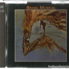 CDs de Música: DOBLE CD BRASIL MUSICAL ( ZIMBO TRIO, MARCO PEREIDA, PAULO MOURA, CANHOTO DE PERALBA, ETC ). Lote 170829260