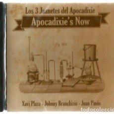 CDs de Música: CD LOS 3 JUANETES DEL APOCADIXIE / APOCADIXIE'S NOW ( XAVI PLAZA, JOHNNY BRANCHIZIO, JOAN PINOS). Lote 170834405