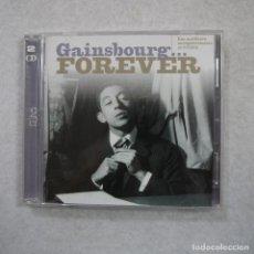 CDs de Música: SERGE GAINSBOURG - GAINSBOURG… FOREVER - 2 CDS 2001 . Lote 170850590