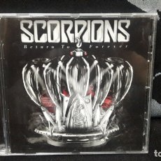 CDs de Música: SCORPION - RETURN TO FOREVER 2015 BUEN ESTADO. Lote 170882655