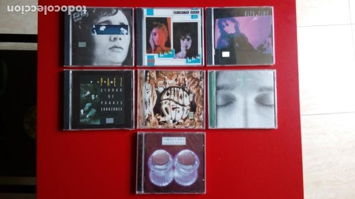 FITO PÁEZ. 'EY'+ 'GIROS'+ 'LA, LA, LA'+ 'CIUDAD DE POBRES' + 'ABRE' + 'CIRCO BEAT+ 'ENEMIGOS ÍNTIMOS (Música - CD's Otros Estilos)
