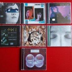 CDs de Música: FITO PÁEZ. 'EY'+ 'GIROS'+ 'LA, LA, LA'+ 'CIUDAD DE POBRES' + 'ABRE' + 'CIRCO BEAT+ 'ENEMIGOS ÍNTIMOS. Lote 160524702