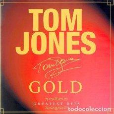 CDs de Música: TOM JONES - GOLD - GREATEST HITS. Lote 170926540