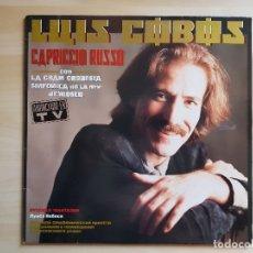 CDs de Música: LUIS COBOS - CAPRICCIO RUSSO - LP VINILO - CBS - 1986. Lote 170935815