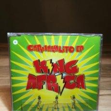 CDs de Música: KING AFRICA CARNAVALITO EP CD SINGLE EP 2002 SPAIN VALE MUSIC 3-TRACKS . Lote 170946055