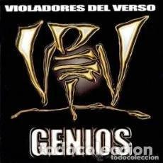 CDs de Música: CD VIOLADORES DEL VERSO : GENIOS . Lote 170970094