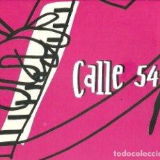CDs de Música: DOBLE CD CALLE 54 ( TITO PUENTE, CHUCHO BEBO VALDES, CACHAO, GATO BARBIERI, ELIANE ELIAS ETC. Lote 170978374