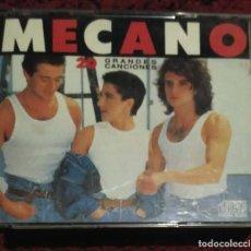 CDs de Música: MECANO (20 GRANDES CANCIONES) 2 CD'S 1989. Lote 170987494
