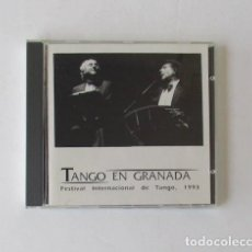 CDs de Música: TANGO EN GRANADA - FESTIVAL INTERNACIONAL DE TANGO 1993. Lote 170993283