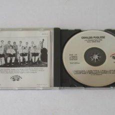 CDs de Música: OSVALDO PUGLIESE Y SU ORQUESTA TIPICA 1949 - CANTA JORGE VIDAL. Lote 171002954