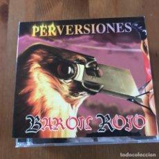 CDs de Música: BARÓN ROJO - PERVERSIONES - CD ZERO 2003 - DIGIPAK. Lote 171008608