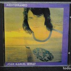 CDs de Música: JOAN MANUEL SERRAT - MEDITERRÁNEO - CD. Lote 171017997