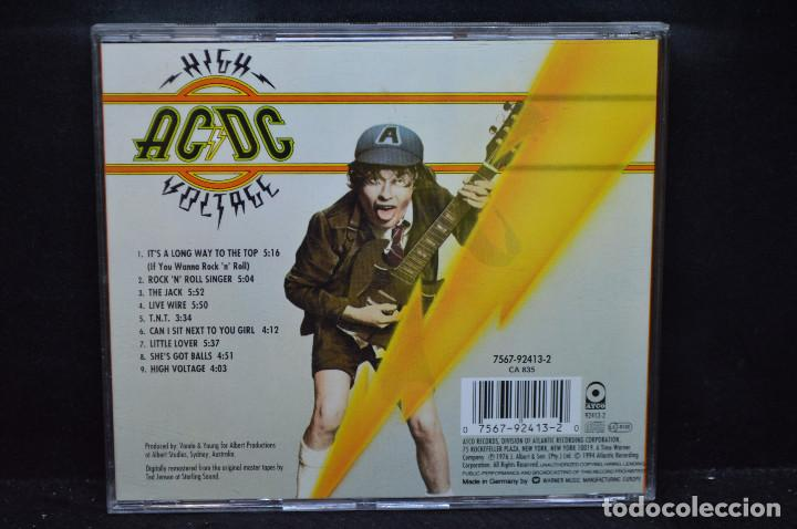 CDs de Música: AC/DC - HIGH VOLTAGE - CD - Foto 2 - 171020529