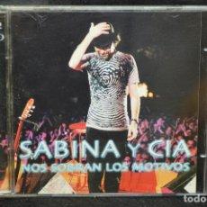 CDs de Música: SABINA Y CIA - NOS SOBRAN LOS MOTIVOS - 2 CD. Lote 171023513