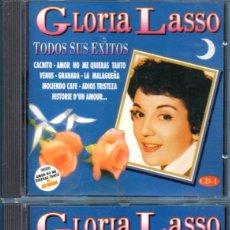 CDs de Música: DOS CD DE GLORIA LASSO EDICIÓN DIVUCSA EN EL AÑO 1995 EN ESPAÑA . Lote 171023795