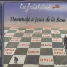 CDs de Música: TU FRIALDAD - HOMENAJE A JESÚS DE LA ROSA - CD. Lote 171026084