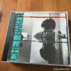 CDs de Música: CHET BAKER - LET'S GET LOST (THE BEST OF CHET BAKER SINGS) - CD CAPITOL 1989. Lote 171038479