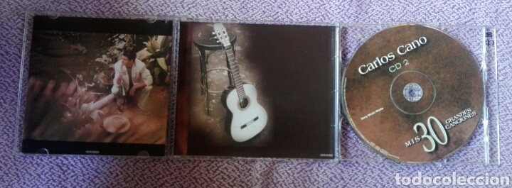 CDs de Música: CD Carlos Cano - Mis 30 Grandes Canciones - Doble CD - Foto 4 - 171053033