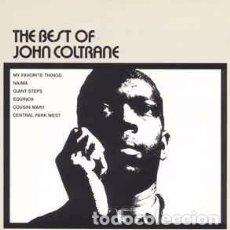 CDs de Música: JOHN COLTRANE - THE BEST OF JOHN COLTRANE (CD, COMP) LABEL:ATLANTIC CAT#: 7567-81366-2 . Lote 171056372