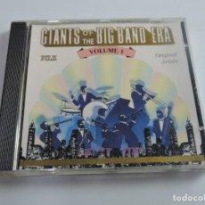 CDs de Música: GIANTS OF THE BIG BAND ERA VOLUME 1 CD . Lote 171092312