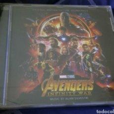 CDs de Música: AVENGERS INFINITY WAR BANDA SONORA ORIGINAL. NUEVA.. Lote 171095520