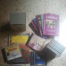 CDs de Música: MÚSICA CLÁSICA, ÓPERA, ZARZUELA ... MAGNÍFICO LOTE EN CD - 8 LIBROS + 28 CD´S. Lote 171102124