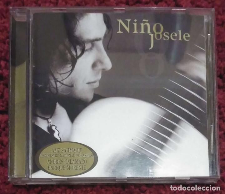 NIÑO JOSELE - CD 2002 (ANDRÉS CALAMARO, ENRIQUE MORENTE Y AZIZ SAHMAQUI) (Música - CD's Flamenco, Canción española y Cuplé)