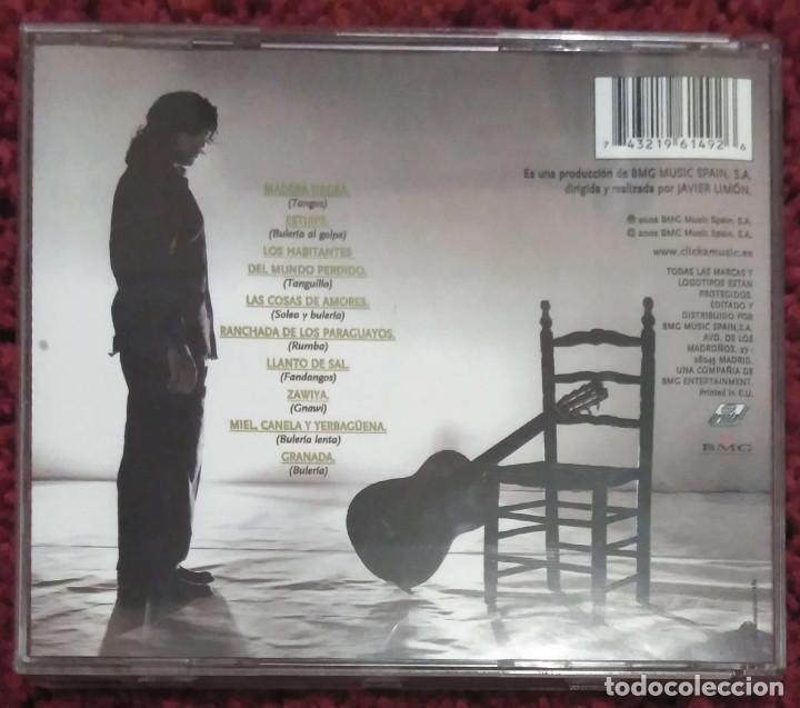 CDs de Música: NIÑO JOSELE - CD 2002 (Andrés Calamaro, Enrique Morente y Aziz Sahmaqui) - Foto 2 - 171112822
