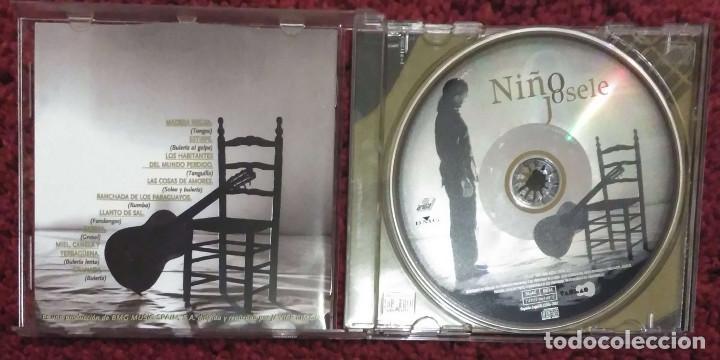 CDs de Música: NIÑO JOSELE - CD 2002 (Andrés Calamaro, Enrique Morente y Aziz Sahmaqui) - Foto 3 - 171112822