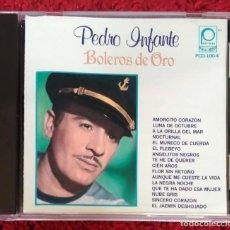 CDs de Música: PEDRO INFANTE (BOLEROS DE ORO) CD 1990. Lote 171121943