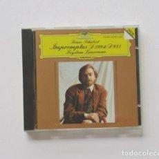 CDs de Música: FRANZ SCHUBERT - IMPROMPTUS D 899 & D 935 - KRYSTIAN ZIMERMAN. Lote 171123210